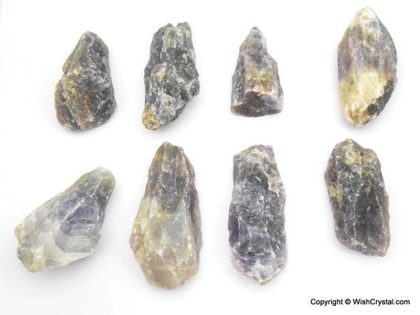 Raw Amethyst points for Healing - 1 Kilo Bag