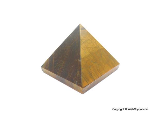 Tiger Eye Big Pyramid