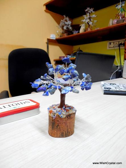 Bag of 10 Mixed Petite Natural crystals Gem Trees