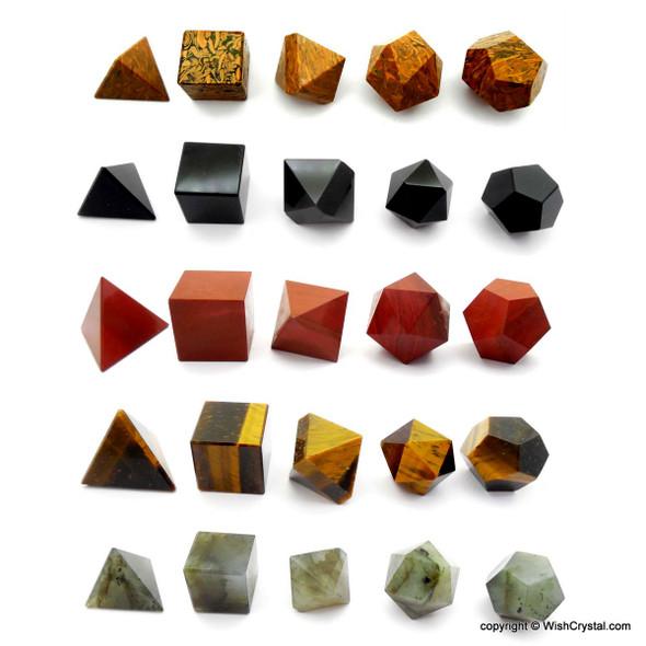 Bag of 10 Sacred Geometry Set - Assorted
