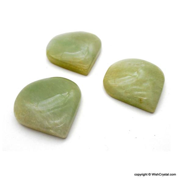 Wholesale supplier of Green Aventurine Heart Chakra cabochon