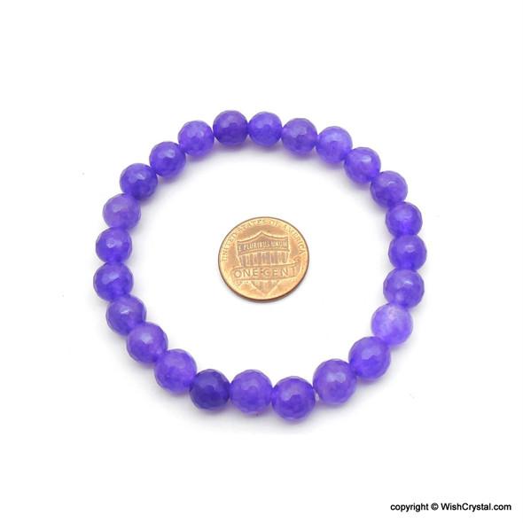 Blue Agate Beads Bracelets