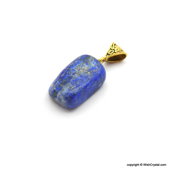 Lapis Lazuli Tumble Stone Pendant