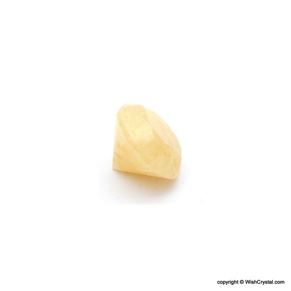Yellow Aventurine Diamond Shape Meditation Chakra Stone