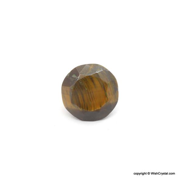 Tiger Eye Diamond Shape Meditation Chakra Stone