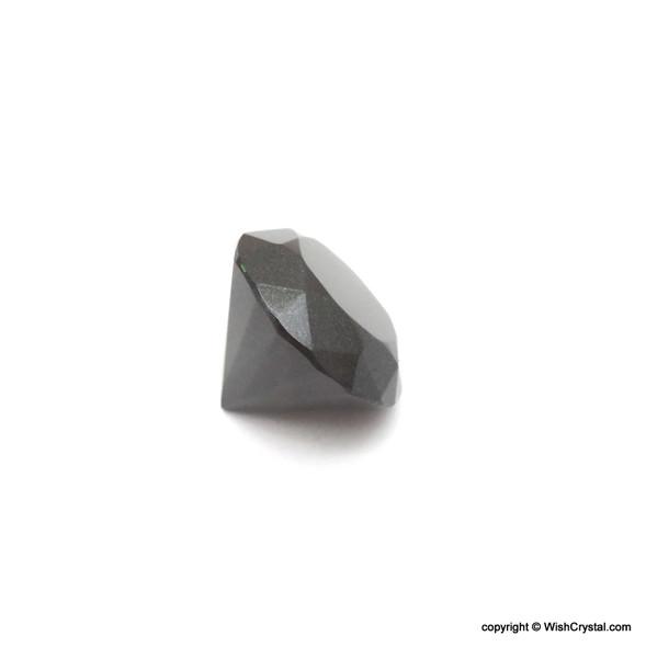 Black Obsidian Diamond Shape Meditation Chakra Stone