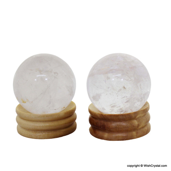 Natural Quartz Crystal Sphere