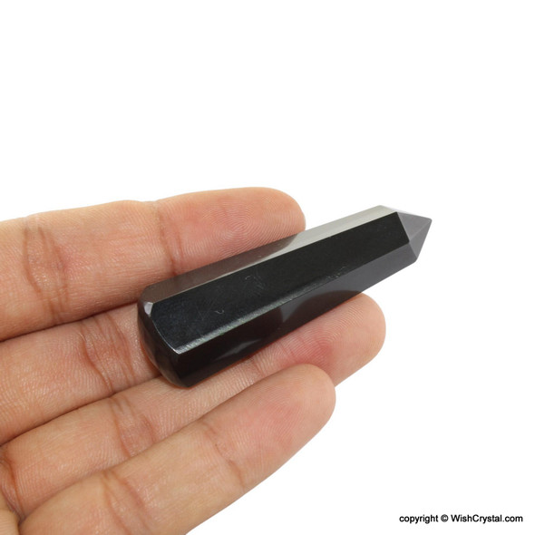 Black Obsidan small massage Wand point