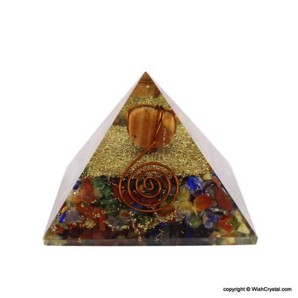 Red Aventurine Orgonite Pyramid