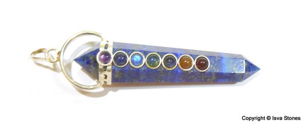 Lapis Lazuli Chakra DT Pendant
