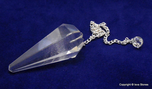 Crystal Diamond shape Pendulum