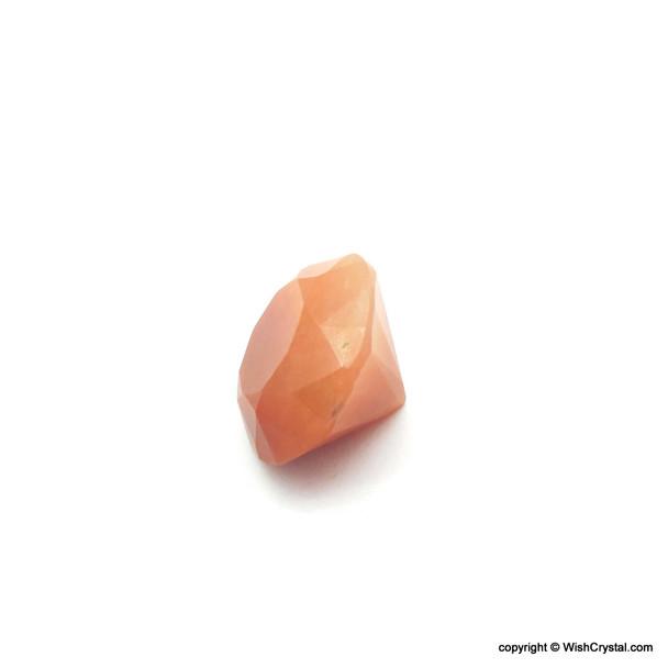 Orange Aventurine Diamond Shape Meditation Chakra Stone