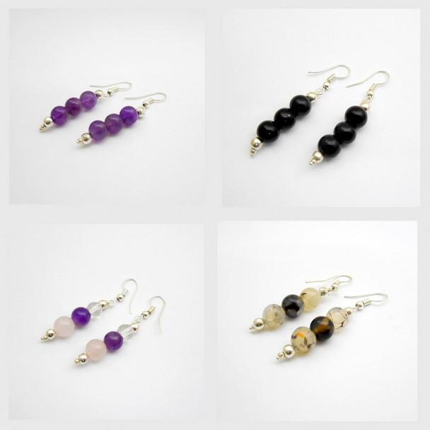 Bag of 50 Beads Earrings