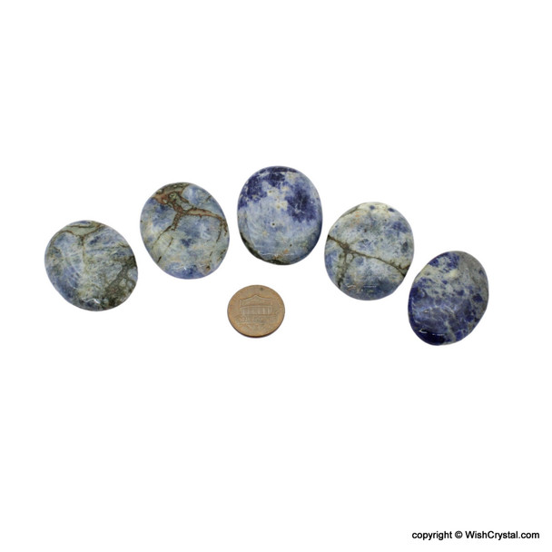 Sodalite Cabochon for Healing - Oval Shape