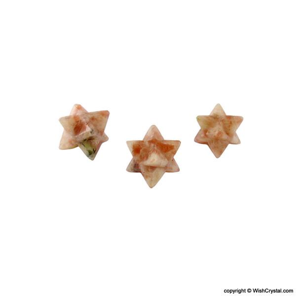 Natural Crystal Merkaba Star