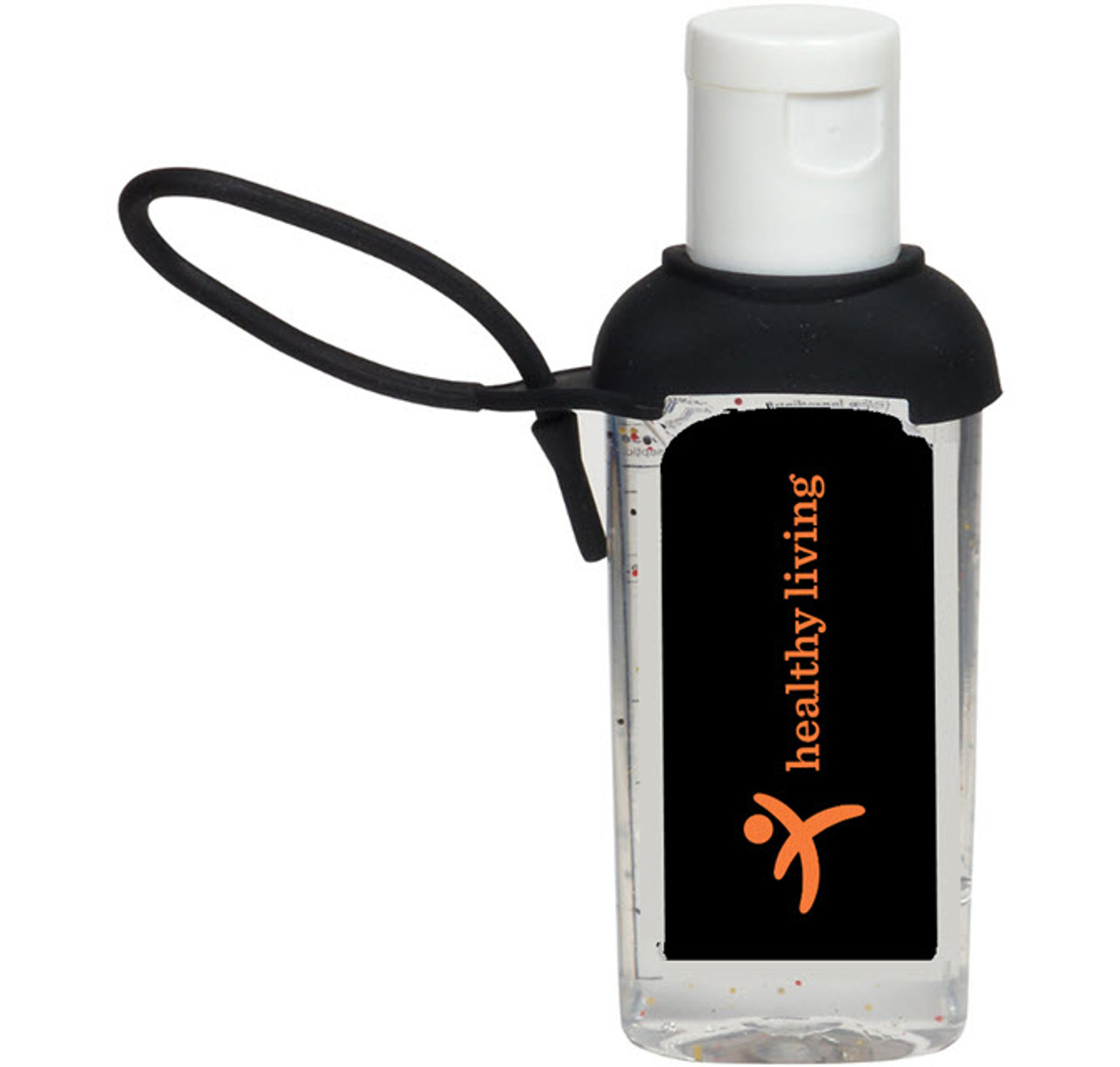 2 oz Hand Sanitizer with Silicone Strap-OUT OF STOCK