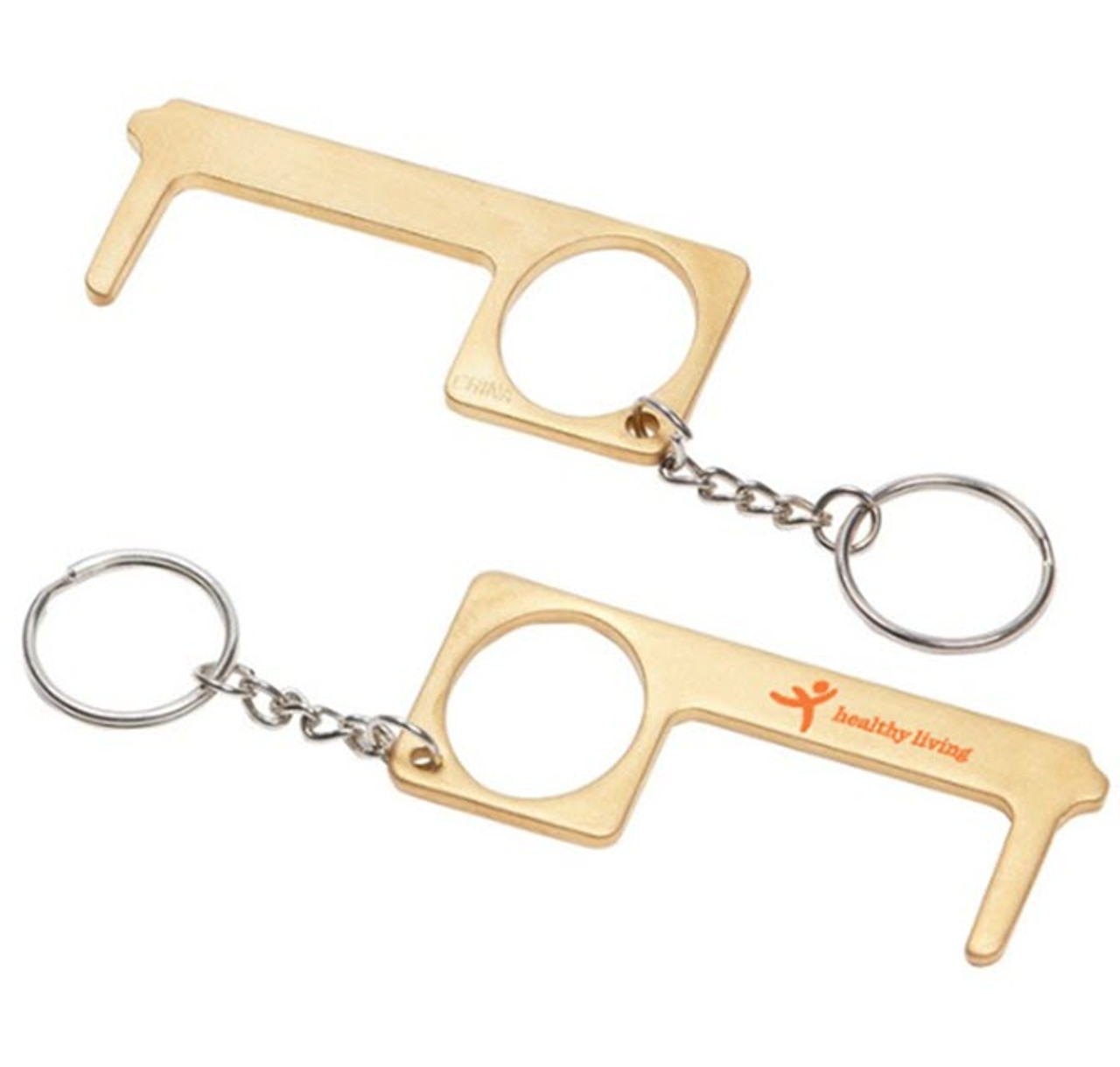 Brass No-Touch Protection Tool