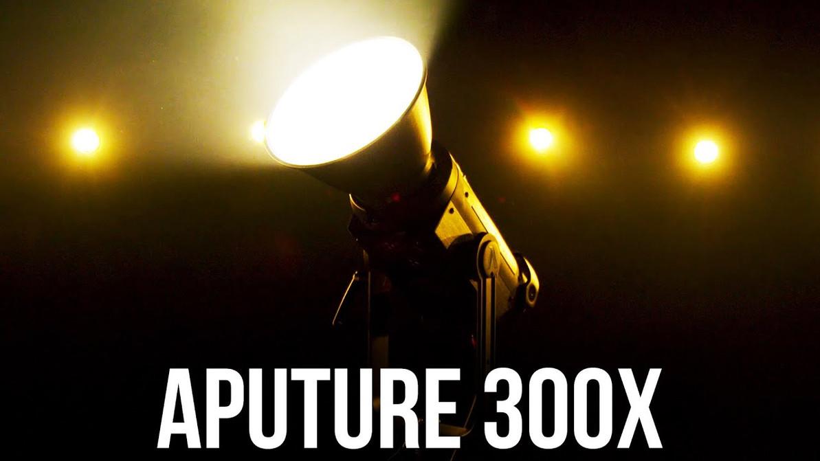 Aputure 強勢推出全新 300X 雙色LED