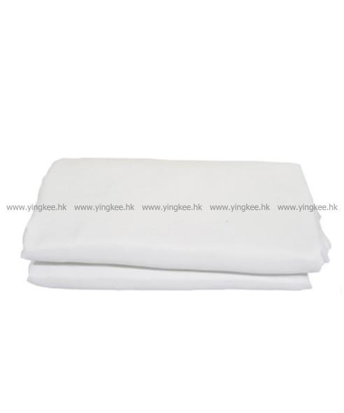 3m x 6m 棉質背景布白色 white