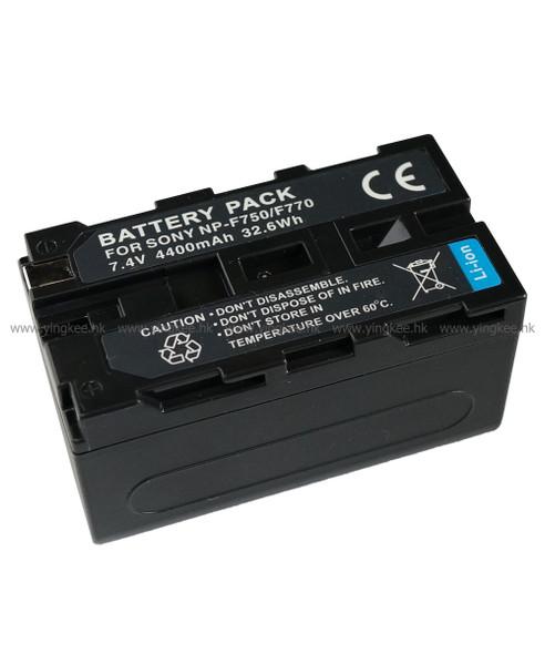 副廠 NP-F750 F770 4400mAh YN300 YN600 YN900 攝錄燈專用鋰電池