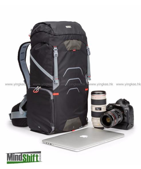 MindShift Gear UltraLight™ Dual 36L Black Magma 輕量級戶外攝影背囊