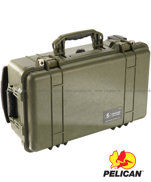 Pelican 1510 Carry On Case OD Green 攝影器材安全箱