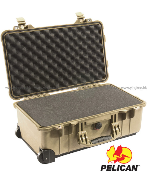 Pelican 1510 Carry On Case Desert Tan 沙漠色 攝影器材安全箱