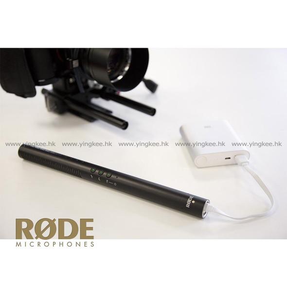 Rode Directional Condenser Microphone NTG4+ 充電型指向性拍攝咪