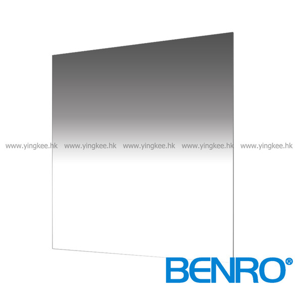 Benro Master GND8 (0.9) SOFT 150mm  Glass Filter 漸變灰濾鏡