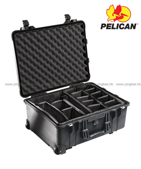 Pelican 1564 With Padded Dividers Black 軟墊間隔 攝影器材安全箱