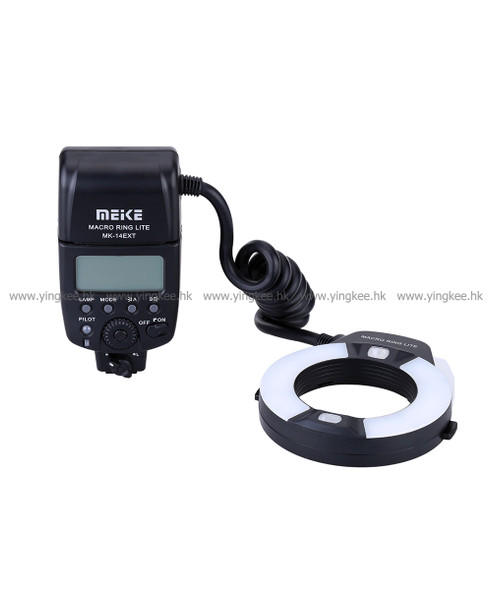 Meike美科 MK-14EXT GN14 Macro Ring Lite for Canon 微距環形閃光燈