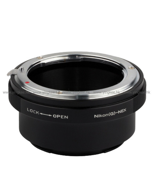 Pixco AIG-NEX Nikon G to Sony E Mount 鏡頭轉接環