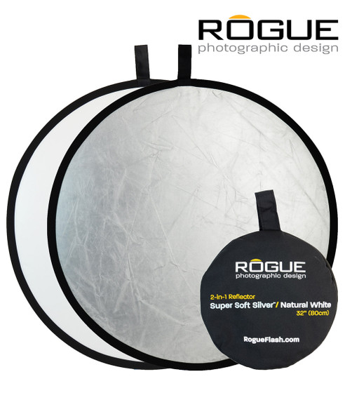 """Rogue 32"""" (80cm) 2-in-1 Collapsible Reflector 二合一反光板"""