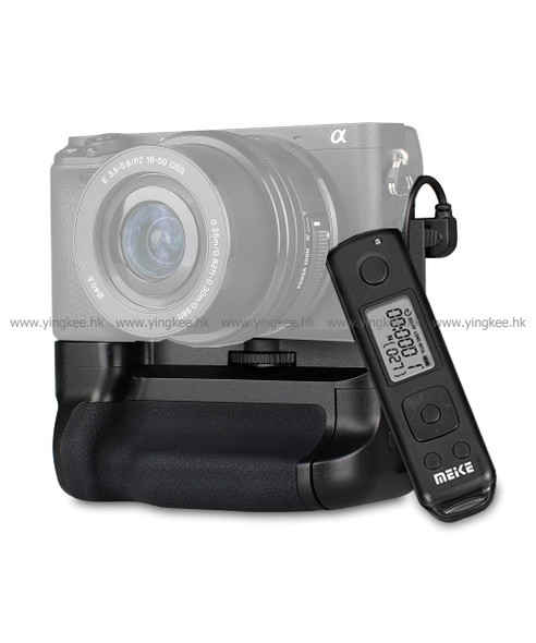 Meike 美科 MK-A6400 PRO 電池直倒手柄連遙控器 (Sony A6400/A6300/A6000)