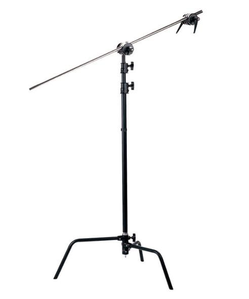 C Stand 黑色吊臂燈架 (296cm)