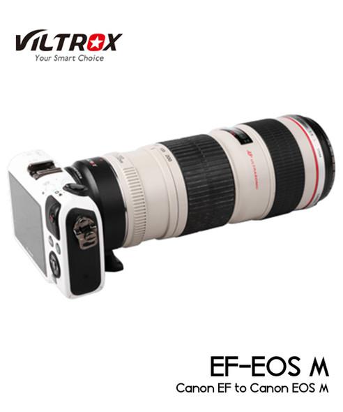 Viltrox Canon EF to EOS M 電子鏡頭轉接環