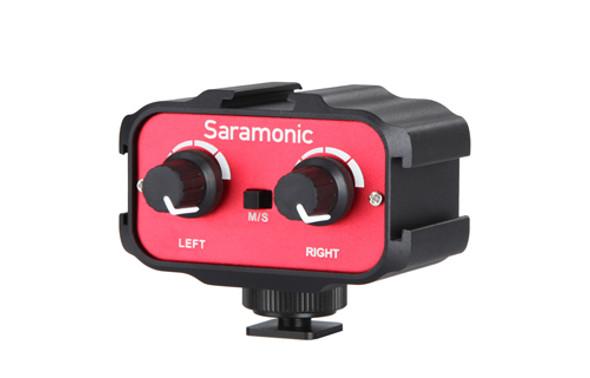 Saramonic SR-AX100 DSLR 3.5mm 多軌收音介面