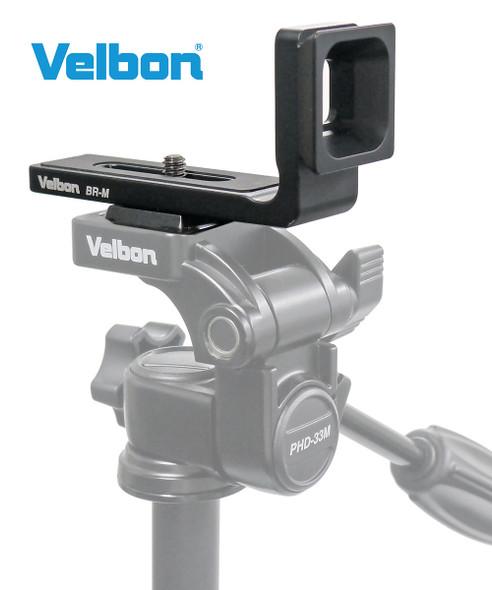 Velbon 金鐘 BR-M 無反相機 L 型快拆板