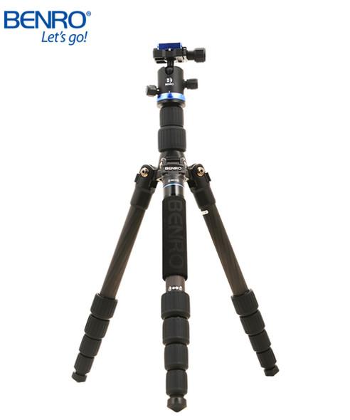 Benro 百諾 iFoto IF19C 碳纖維五節三腳架套裝
