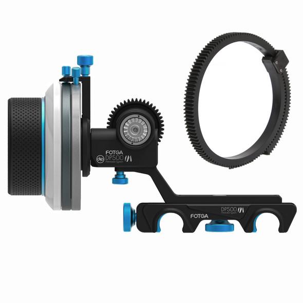 Fotga DP500 III follow focus AB 限位追焦器15mm路軌適用