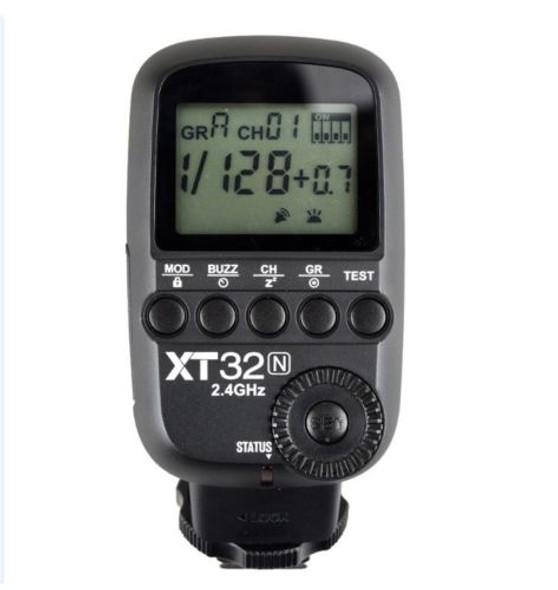 Godox 神牛 XT32 N TX Nikon專用無線引閃發射器