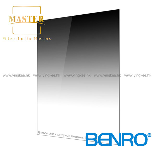 Benro Master 100mm GND8 (0.9) Soft Glass Filter 德國光學玻璃濾鏡