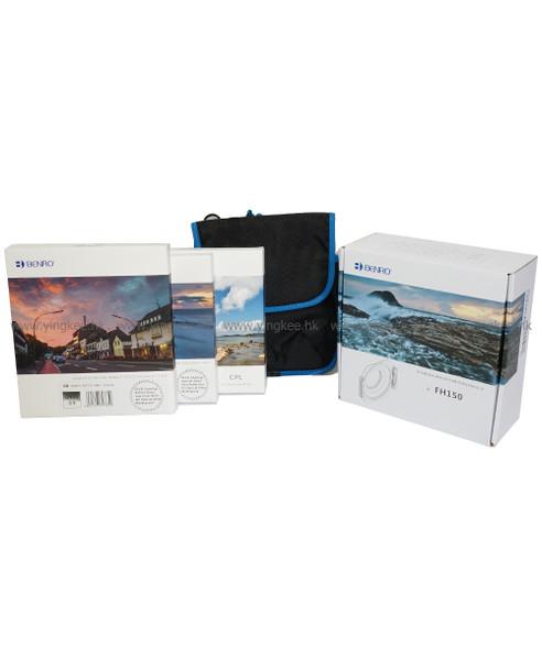 Benro Master FH150 150mm Glass Filter Set for Sigma 12-24 f/4.5-5.6 EX HSM II 德國光學玻璃濾鏡套裝