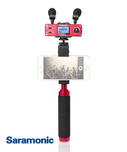 SARAMONIC SmartMixer 智能電話立體聲錄音混音器