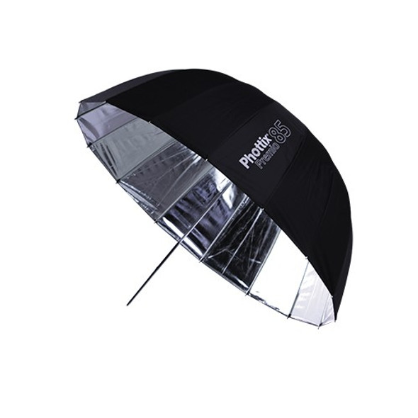 "Phottix Premio Silver Reflective Umbrella 85cm 33"" 特深多骨反光傘"