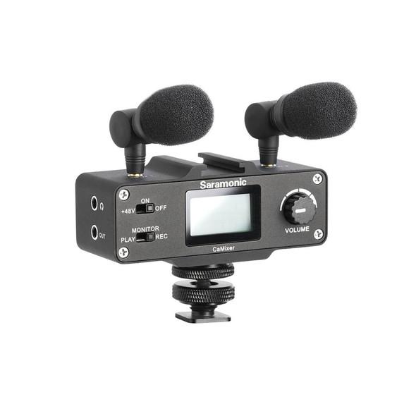 Saramonic CaMixer 單反相機機頂混音器