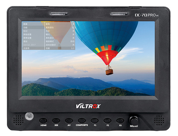 Viltrox DC-70PRO 4K 7吋專業高清SDI取景器