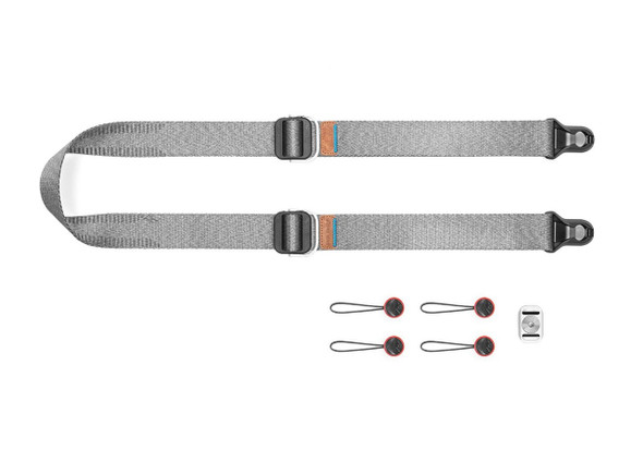 Peak Design Slide Lite V3 Camera Sling Strap Ash