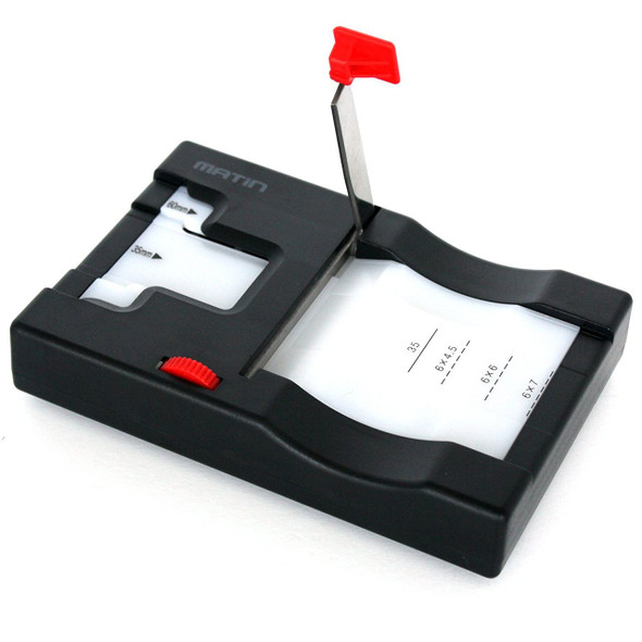 Matin M-9424 Multiple Slide Film Cutter for 35mm 6x45 6x6 6x7 60mm format