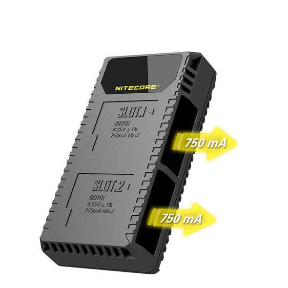 Nitecore UGP5 Gopro5/6/7/8 USB 雙位電池充電座